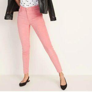 OLD NAVY Pink Rockstar High Rise Skinny Jeans